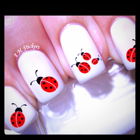 AM Makeup | Pick 2 Nail Decals For 12 Ladybug Nail Stickers | Poshmark